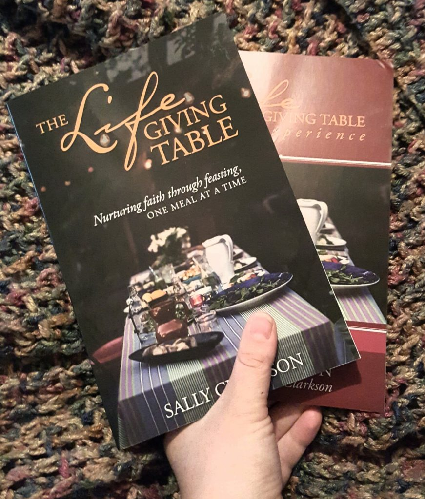 The LifeGiving Table and Sally Clarkson a book review
