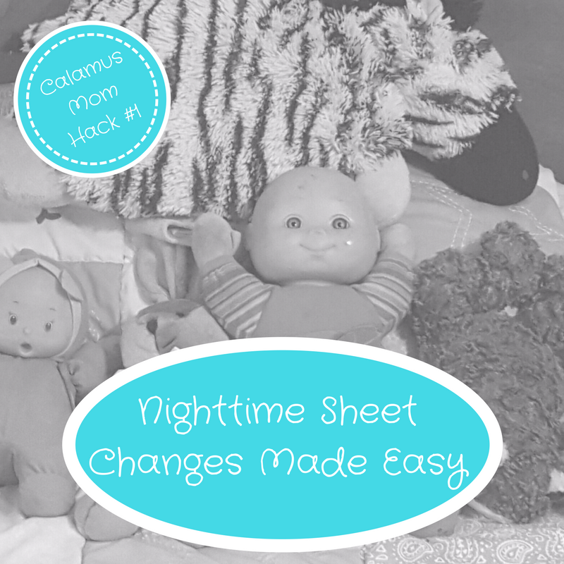 Nighttime Bedding Changes Made Easy