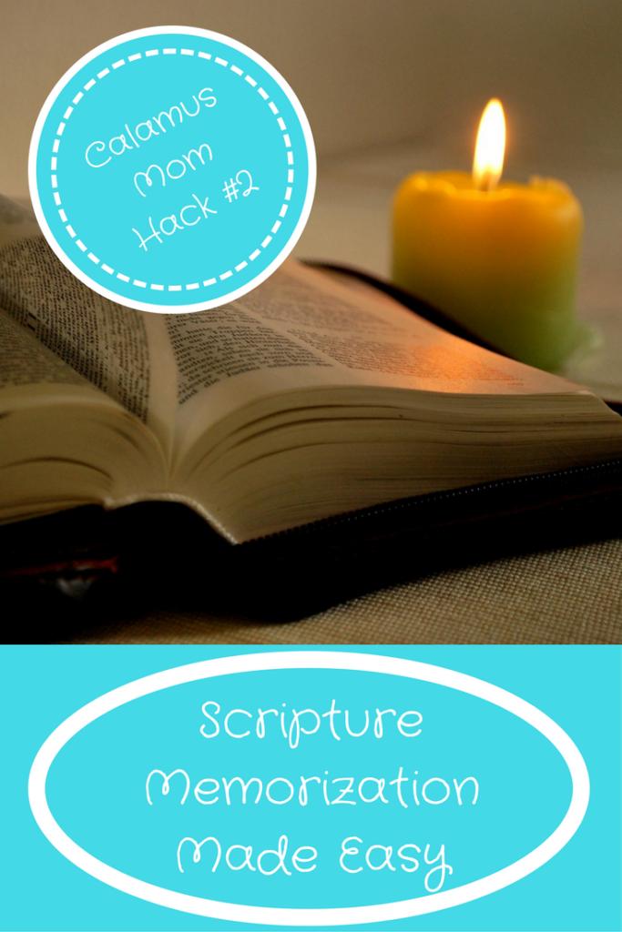 Scripture Memorization Made Easy